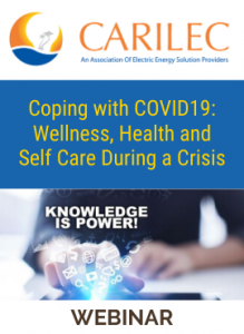 Coping with COVID19: Wellness, Health and Self Care During a Crisis